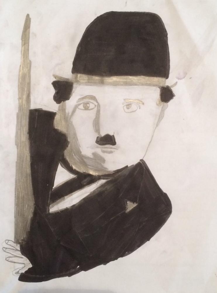 Charlie Chaplin par bijan-alexandre